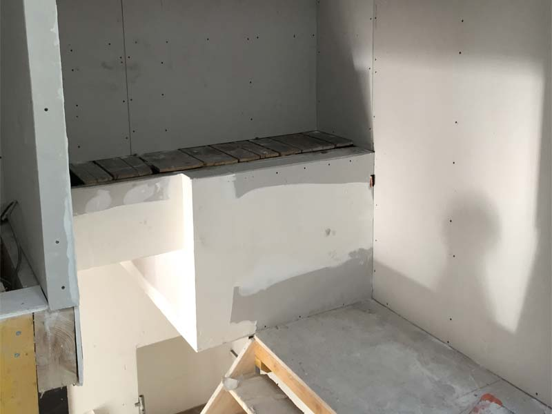 pose cloison ba13 cheap raliser des cloisons en ba. Black Bedroom Furniture Sets. Home Design Ideas